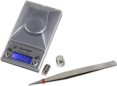 N/V Alta Precisión Compacto y Portátil Experimento 10/20/50G 0.001g LCD Laboratorio Digital Joyería Escala Hierba Balance Peso Gram