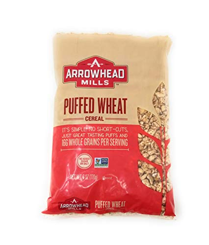 Arrowhead Puffed Wheat Cereal 6 OZ (Pack of 4)