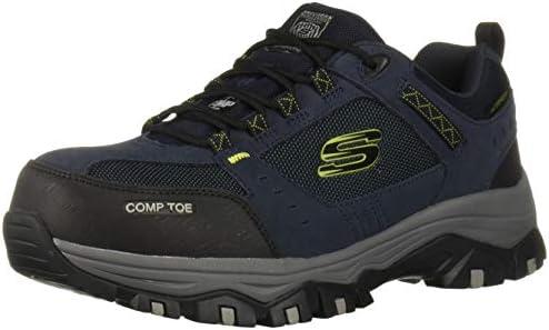 Skechers Men s Greetah Construction Shoe Navy Black 9 5 M US product image