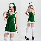 Dgcrf falda trajes de Navidad para adultos mujeres invierno