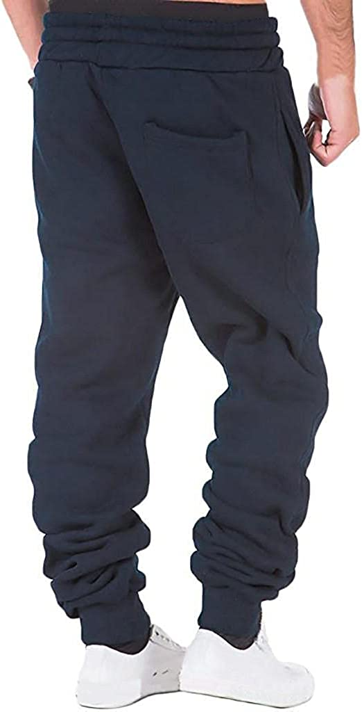 Beshion Sweatpants for Men Running Jogger Pants Gym Athletic Workout Training Track Pant Overalls Work Casual Trouser