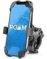 "Roam Universal Premium Bike Phone Mount for Motorcycle - Bike Handlebars, Adjustable, Fits iPhone 11, X, XR, 8 | 8 Plus, 7 | 7 Plus, 6s Plus | Galaxy, S10, S9, S8, Holds Phones Up to 3.5"" Wide"