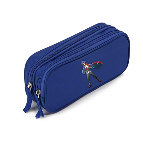 Tengen Toppa Gurren-Lagann Backpack For Boys and Girls Pencil Cases Sweet and Lovely Storage Cases Simple Atmosphere Pencil Bag For Man and Women Pencil Bag Lovely Literature and Art Storage Bag Unise