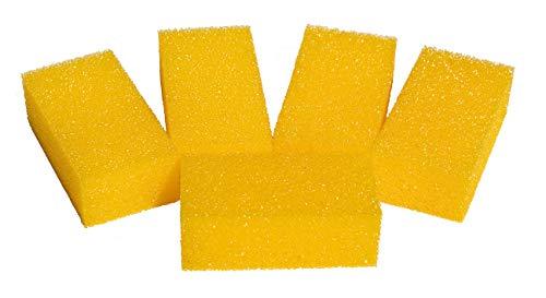 joerns Esponja para yeso piedra–para esponjas,–Fregador–Set con 10pieza, tamaño. 11x 4x 6cm