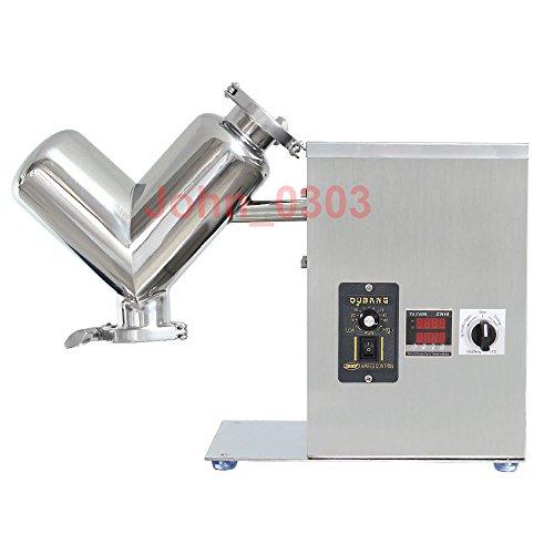2L Labor Scher V Typ Trockenpulvermischer Mischmaschine Mixer Mischmaschine