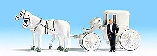 autorización oficial Noch 16706 Horse Drawn Wedding Carriage by by by Noch  se descuenta