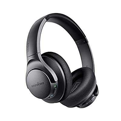 Soundcore Life Q20 Bluetooth and Wireless Over-Ear Headphones for Travel, Work (Renewed) by Soundcore