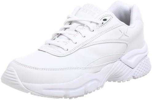 Apex Women's X826W Athletic Walking Shoe,White,10.5 M US