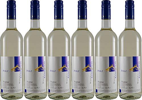 Weinkellerei Paul Nickel & Söhne Rivaner 2019 Halbtrocken (6 x 0.75 l)