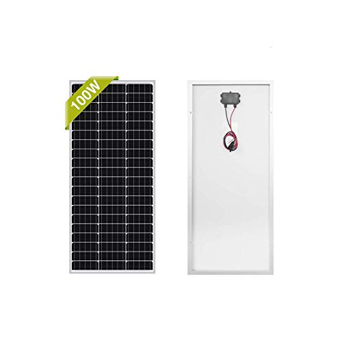Newpowa 100 Watt High Efficiency Solar Panel for Marine Boat