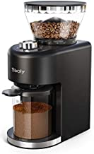Sboly Conical Burr Coffee Grinder, Electric Coffee Grinder with 35 Grind Settings for 2-12 Cups, Adjustable Burr Mill Coffee Bean Grinder for Espresso, Drip Coffee, Pour Over, & French Press Coffee