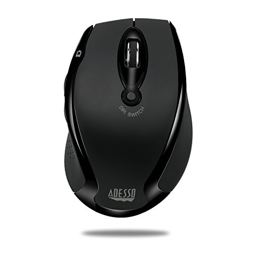 Adesso iMouse M20B - Wireless Ergonomic Optical Mouse