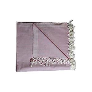 Riyashree Organic Cotton Silky Soft Bhagalpuri Dull chadar Blanket for All Season Queen Size ( 53 * 96 in ) RiBCoDull 11