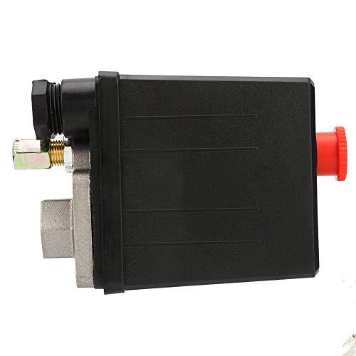 G1 / 4 '' Interruptor de presión, 220V 20A Interruptor de válvula de presión para compresor de aire de un solo agujero 0.4~0.7Mpa