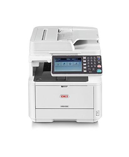 OKI MB492dn A4-Schwarzweiß-4-in-1-Multifunktionsdrucker (Farbscanner, RADF, Duplex, Netzwerk)