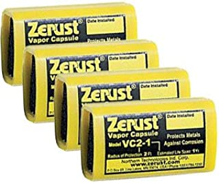Zerust VC2-1 NoRust Vapor Capsule - Pack of 4