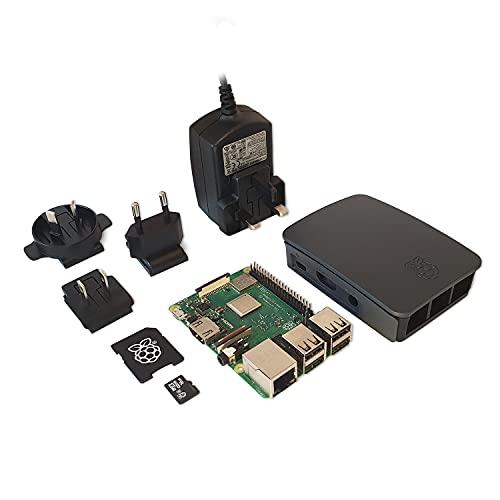UCreate Raspberry Pi 3 Model B+ Desktop Starter Kit (16Gb, Black)