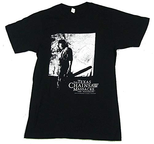 TO Texas Chainsaw Massacre Night Forest Beginning Black T Shirt Newmovie