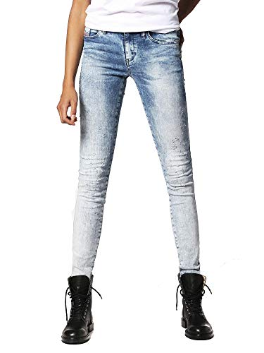 Diesel Skinzee 084GW Jeans Donna Skinny (23W / 32L, Blu)