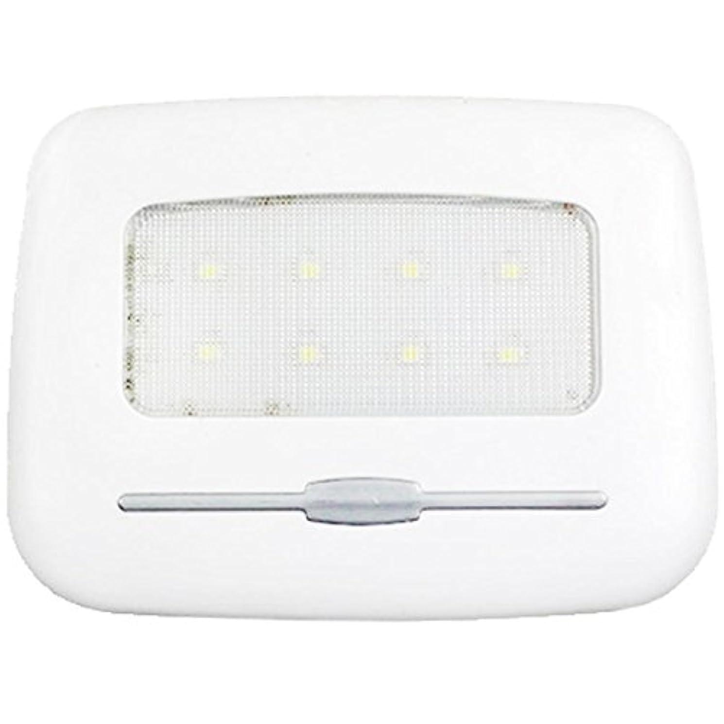 罪機構包括的1stモール タッチセンサー式 LEDライト USB充電 両面テープ マグネット ルームランプ (ホワイト) ST-G016-WH