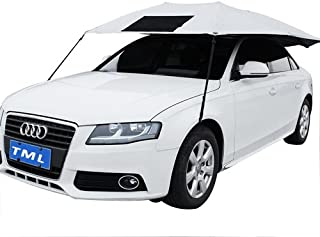 The Metal Lamination Car Shield (Synthetic Cloth, Silver)