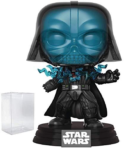 Star Wars: Return of The Jedi – Electrocuted Darth Vader Funko Pop! Figura de Vinilo con Cabeza de Burbuja (Incluye Funda Protectora de Caja de Pop Compatible)