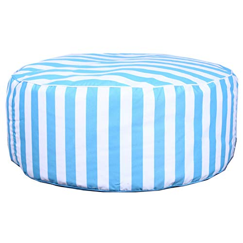 BeanBags Large Bean Bag Chair Sofa Couch Filler Bean Bag Adults Lounger Sack Home Waterproof for Home Garden Living Room (Color : Blue, Size : One size)