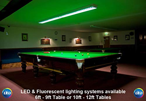 Dependable Lighting,Profiturnier Snooker, Pool, Billardtisch Neonbeleuchtung/Lampenfassung
