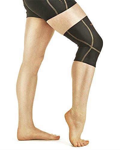 Tommie Copper Womens Performance Triumph Knee Sleeve, Black, Medium