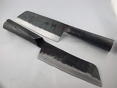 gamsjaga Küchenmesser GJK8b Carbonstahl