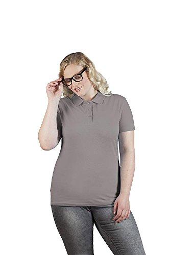 Premium Poloshirt Damen, L, Dunkelgrau