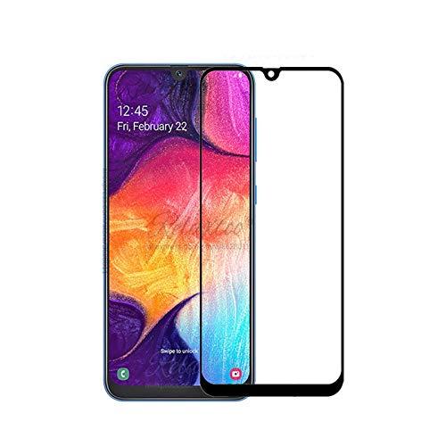 Pelicula de Vidro 3D para Samsung Galaxy A30 2019, Cell Case, Película de Vidro Protetora de Tela para Celular, Preto