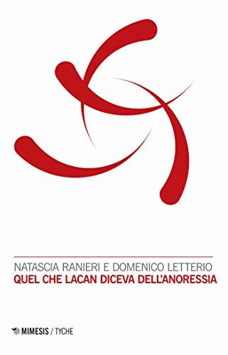 Quel che Lacan diceva dell'anoressia (Italian Edition)
