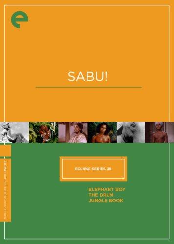 Eclipse Series 30: Sabu! (Elephant Boy, The Drum, Jungle Book) (Criterion Collection)