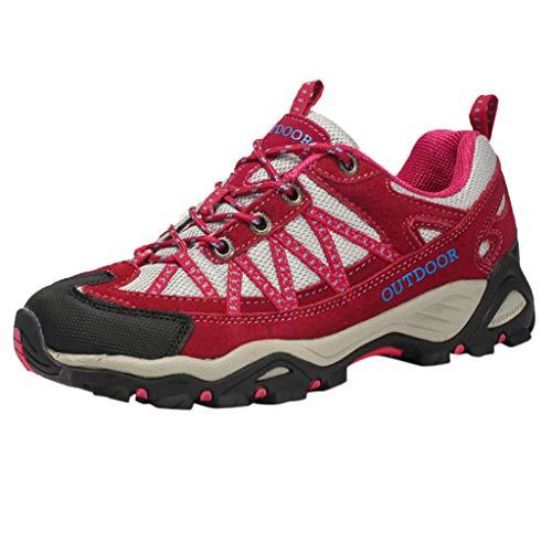 Makalon Damen Wanderhalbschuhe Dämpfung Sneakers Unisex Traillaufschuhe Sportschuhe Laufschuhe Turnschuhe Walking Schuhe Frau Leicht Trekking Wanderschuhe Boots Atmungsaktiv