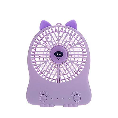 Demarkt Mini ventilador de mano portátil eléctrico para niñas