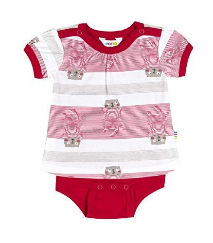 Joha - Body-Shirt (Kombination aus T-Shirt und Body) Baby Mädchen Kurzarm COSY in rot Größe 98-104 (3-4 Jahre)