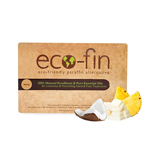 Eco-Fin Retreat Paraffin Wax Alternative | 100% Plant-Based, Coconut & Pineapple Blend | 40 Pc. Tray