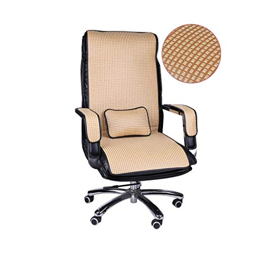 WYJBD -HOMEEY Chair High Back Cushion With Cool Pillow Mat Cooling Seat Cushion Office Summer Computer Chair Breathabl (Color : C, Size : 50 * 120cm)