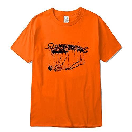 Camisetas Para Hombre Camiseta Con Estampado De Astronauta De Algodón Para Hombre Divertida Camiseta Holgada Con Cuello Redondo Para Hombre Camiseta De Manga Corta Camiseta Masculina Tops G M