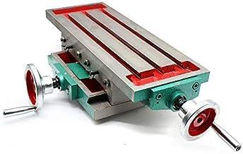 Fresadora de mesa de trabajo de fresado multifunción Mesa de trabajo Taladro compuesto Taladro compuesto Tabla de coordenadas Mesa para taladro de banco Fresadora de precisión de 2 ejes
