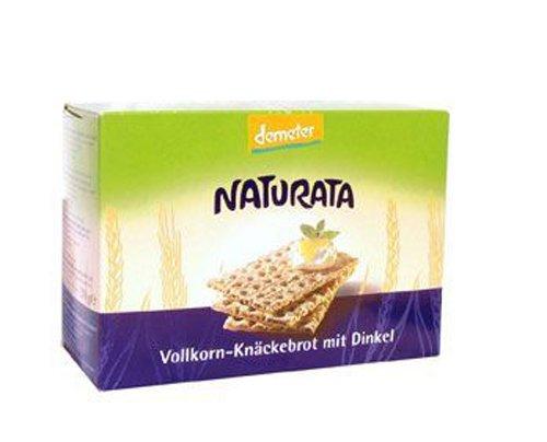 Naturata Bio Vollkorn-Knäckebrot mit Dinkel (1 x 250 gr)