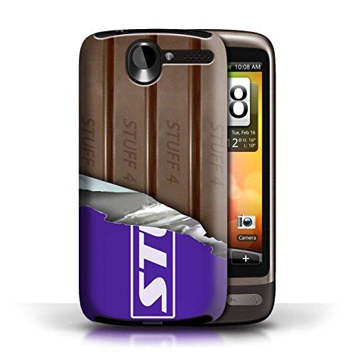 Stuff4 Var voor GG-CC Chocolade, HTC Desire G7, Wrapped Fingers/Sticks