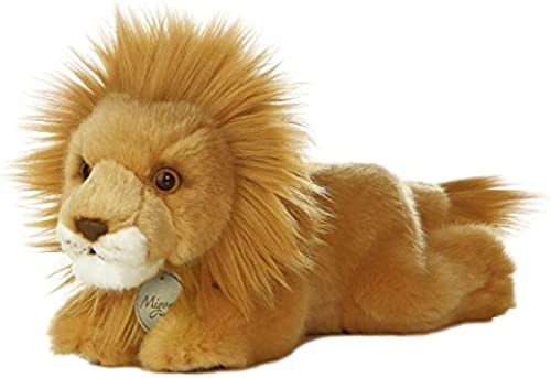 Aurora World Miyoni Lion Plush, 8 by Aurora World