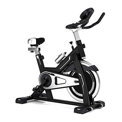 Hnks Spinning Bike Indoor Ciclismo Bicicleta Ejercicio Bicicleta Ritmo Cardíaco Fitness Estacionario Ciclo Entrenador con Pantalla LCD Entrenamiento en Interiores para Dar Forma al Cuerpo