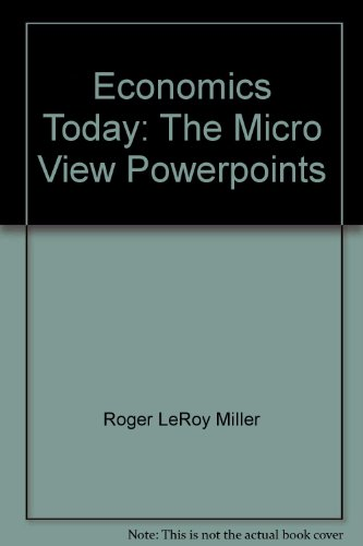 Economics Today: The Micro View Powerpoints