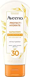 Aveeno Protect + Hydrate Face-Moisturizing Sunscreen Lotion with Broad Spectrum SPF 30 & Antioxidant
