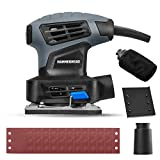 Hammerhead 2.0-Amp 1/4 Sheet Palm Sander with 12pcs Sandpaper– HAPS020