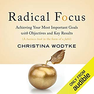 Radical Focus audiobook cover art