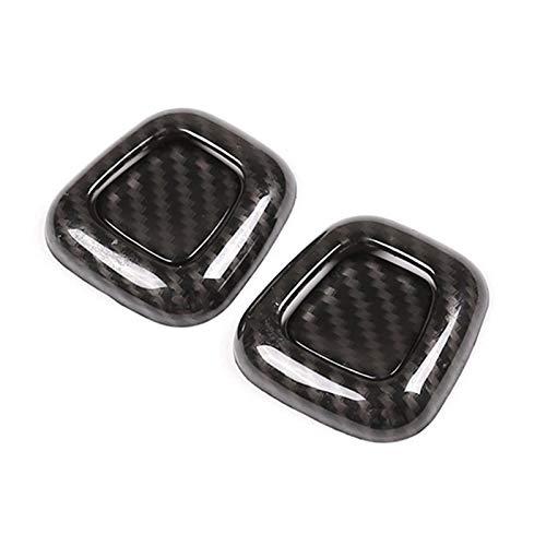 EMEI Fibra di carbonio ABS SEAT Poggiatesta Decorazione Cover Trim Adesivi adatti per Mercedes Benz Gla Class H247 2020-2021